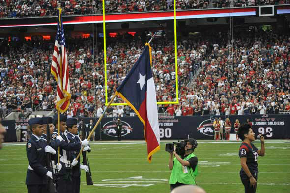 "<div class=""meta ""><span class=""caption-text "">Images of the players, fans and cheerleaders at Reliant Stadium for the Texans vs. Titans game in week 4. (KTRK Photo)</span></div>"
