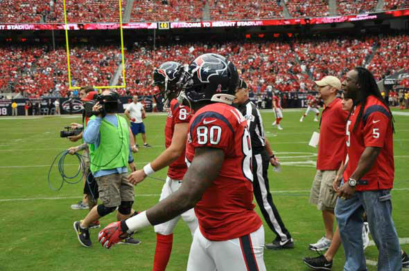 "<div class=""meta ""><span class=""caption-text "">Images from inside and outside Reliant Stadium before the Texans vs. Ravens game on Sunday, October 21, 2012. (KTRK Photo)</span></div>"
