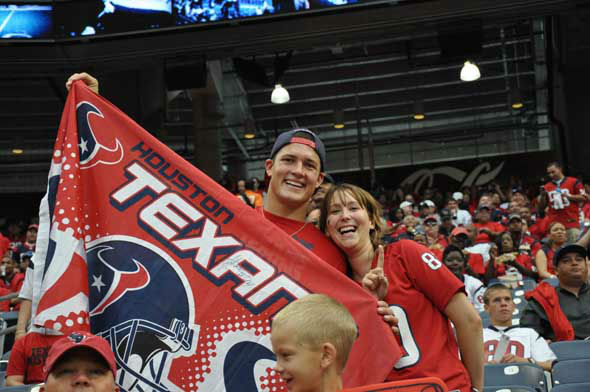 Images from inside and outside Reliant Stadium before the Texans vs. Ravens game on Sunday, October 21, 2012. <span class=meta>(KTRK Photo)</span>