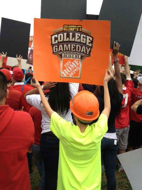 These are photos sent in from our viewers during ESPN's visit to the UH campus for College GameDay!  If you were there, send your pics to news@abc13.com or upload them at iWitness.abc13.com