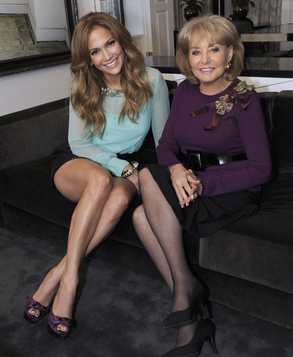 "<div class=""meta ""><span class=""caption-text "">Jennifer Lopez is interviewed by Barbara Walters for ""Barbara Walters Presents: The 10 Most Fascinating People of 2010"" airing THURSDAY, DEC. 9 (9-10PM CT) on the ABC Television Network. (ABC/ Donna Svennevik)</span></div>"