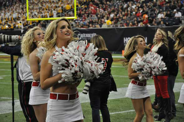 "<div class=""meta ""><span class=""caption-text "">Players, fans, cheerleaders and band members from Texas Tech and the University of Minnesota descended on Reliant Stadium for the Meineke Car Care Bowl of Texas on Friday, December 28, 2012. (KTRK Photo)</span></div>"