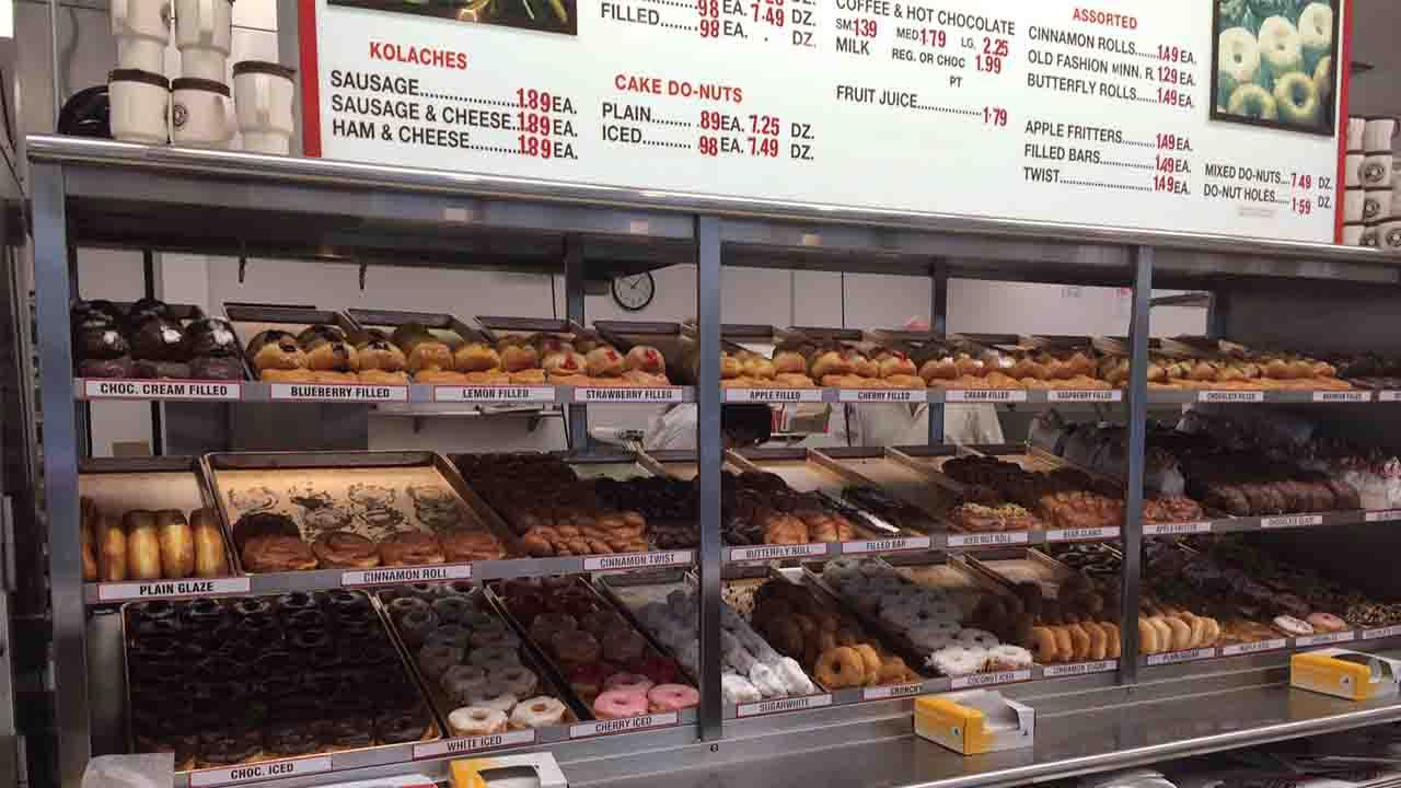 Shipleys Donuts, started right here in Houston, is a favorite among donut lovers.