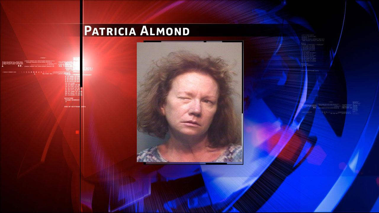 Mugshot of Patricia Almond who was arrested on suspicion of driving drunk