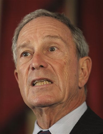 #10 on Forbes list is Michael Bloomberg: New York City Mayor Michael Bloomberg  addresses a media event where he endorsed Republican-turned-Independent Rhode Island gubernatorial candidate Lincoln Chafee in Providence, RI., Thursday, Sept. 16, 2010. &#40;AP Photo&#47;Stephan Savoia&#41; <span class=meta>(AP Photo&#47; Stephan Savoia)</span>