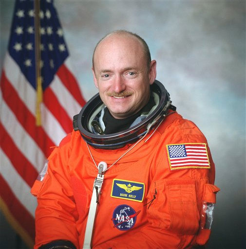 "<div class=""meta image-caption""><div class=""origin-logo origin-image ""><span></span></div><span class=""caption-text"">This undated photo provided by NASA shows Capt. Mark E. Kelly. The astronauts wife, Rep. Gabrielle Giffords, D-Ariz., was shot Saturday, Jan. 8, 2011 when an assailant opened fire in an area where the lawmaker was meeting with constituents in Tucson, congressional officials said. (AP Photo/NASA) (AP Photo/ Anonymous)</span></div>"