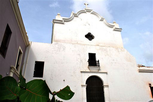 "<div class=""meta ""><span class=""caption-text "">This image provided by the National Trust for Historic Preservation shows San Jose Church in Old San Juan, Puerto Rico. The trust placed the church on its 2013 list of 11 Most Endangered Historic Place. The San Jose Church was built in 1532 and stands as one of the few remaining examples of Spanish Gothic architecture in the Western Hemisphere. It closed 13 years ago and is now threatened by deterioration and structural damage. This is the preservation group?s first listing from Puerto Rico. (AP Photo/The National Trust for Historic Preservation) (AP Photo/ Uncredited)</span></div>"