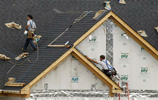 "<div class=""meta ""><span class=""caption-text "">WORST JOB - No. 191: Roofer (AP Photo/ Gene J. Puskar)</span></div>"
