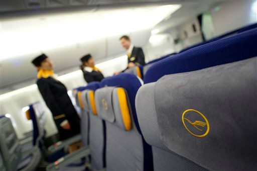 "<div class=""meta ""><span class=""caption-text "">WORST JOB - No. 190: Flight Attendant (AP Photo/ Thomas Lohnes)</span></div>"