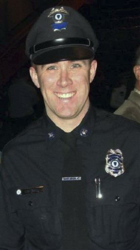 This undated photo provided by the Massachusetts Bay Transportation Authority shows transit police officer Richard Donohue, 33, who was critically injured in an early morning shootout Friday, April 19, 2013, with the two suspects in the Boston Marathon bombings.   <span class=meta>(AP Photo&#47; Uncredited)</span>