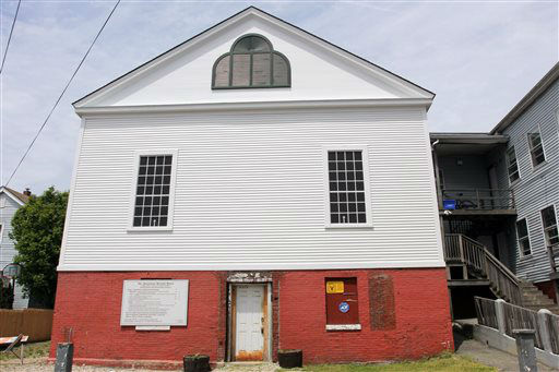 This image provided by Katie Uffelman and released by The National Trust for Historic Preservation shows the Abysinian Meeting House in Portland, Maine. The trust put the house on its 2013 list of 11 Most Endangered Historic Places. For generations of African Americans, the Abyssinian Meeting House was a spiritual center in Portland, but now it needs funding to be preserved for the future. &#40;AP Photo&#47;The National Trust for Historic Preservation, Katie Uffelman&#41; <span class=meta>(AP Photo&#47; Katie Uffelman)</span>