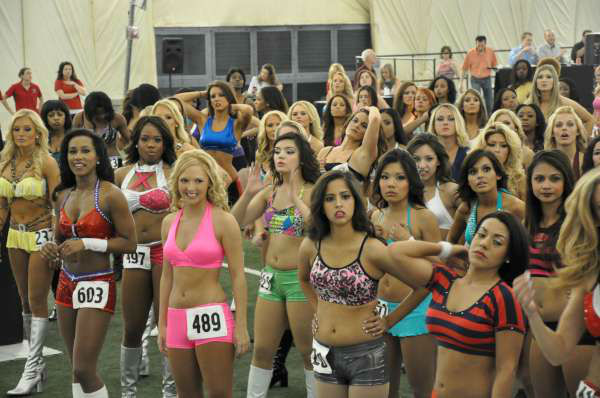 "<div class=""meta image-caption""><div class=""origin-logo origin-image ""><span></span></div><span class=""caption-text"">Hundreds of Houston Texans cheerleader hopefuls, including one male, danced for the judges to make the squad (KTRK Photo)</span></div>"