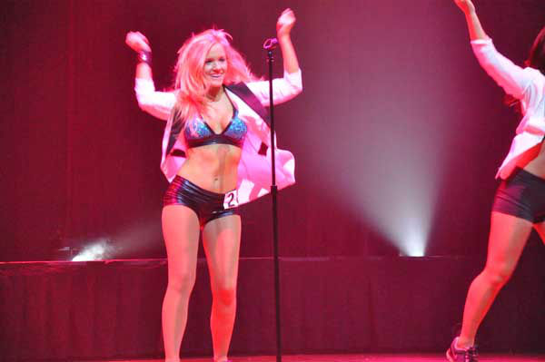 "<div class=""meta ""><span class=""caption-text "">Rockets Power Dancer finalists had one last opportunity to impress the judging panel during a public audition at House of Blues before the team was selected. (KTRK Photo)</span></div>"