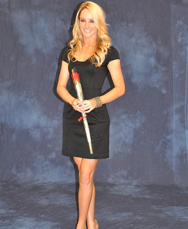 Sarah is one of your 2011 Houston Texans Cheerleaders <span class=meta>(ABC13)</span>
