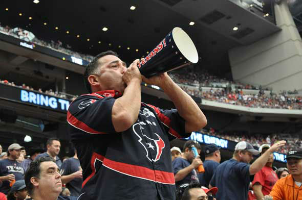Images from inside and outside Reliant Stadium before the Texans vs. Bills game on Sunday, November 4, 2012. <span class=meta>(KTRK Photo)</span>