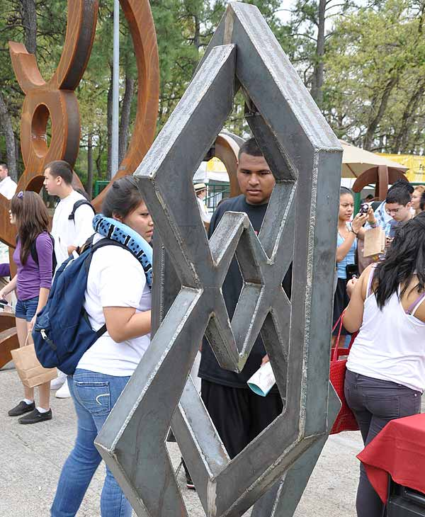 Image of the artwork featured at this weekend's Bayou City Art Festival in Memorial Park