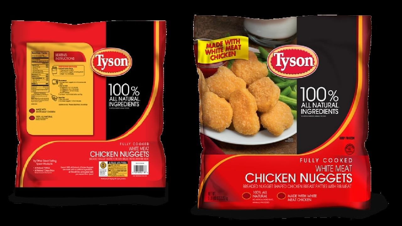 Tyson Foods, Inc. has announced it is voluntarily recalling 5-pound bags of frozen Tyson white meat chicken nuggets that were sold at Sams Club locations nationwide