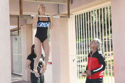 "<div class=""meta image-caption""><div class=""origin-logo origin-image ""><span></span></div><span class=""caption-text"">SPLASH - ""Splash"" marks the first time 10 celebrities will train and compete in regulation platform and springboard diving at dizzying heights in front of a weekly poolside audience. Leading up to the competition, the world's most decorated and medaled diving legend, Greg Louganis, will give each celebrity weeks of training. Each dive will be critiqued by the judges, London Olympic U.S. Gold medalist David Boudia and Australian Olympic athlete and USA Dive Team director Steve Foley. ""Splash"" premieres TUESDAY, MARCH 19 (8:00-9:00 p.m., ET) on The ABC Television Network. (ABC/KELSEY MCNEAL) KENDRA WILKINSON, GREG LOUGANIS (Photo/Kelsey McNeal)</span></div>"