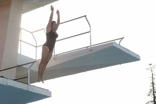 "<div class=""meta ""><span class=""caption-text "">SPLASH - ""Splash"" marks the first time 10 celebrities will train and compete in regulation platform and springboard diving at dizzying heights in front of a weekly poolside audience. Leading up to the competition, the world's most decorated and medaled diving legend, Greg Louganis, will give each celebrity weeks of training. Each dive will be critiqued by the judges, London Olympic U.S. Gold medalist David Boudia and Australian Olympic athlete and USA Dive Team director Steve Foley. ""Splash"" premieres TUESDAY, MARCH 19 (8:00-9:00 p.m., ET) on The ABC Television Network. (ABC/KELSEY MCNEAL) NICOLE EGGERT (Photo/Kelsey McNeal)</span></div>"