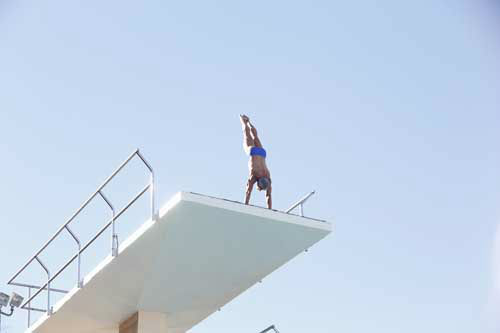 "<div class=""meta image-caption""><div class=""origin-logo origin-image ""><span></span></div><span class=""caption-text"">SPLASH - ""Splash"" marks the first time 10 celebrities will train and compete in regulation platform and springboard diving at dizzying heights in front of a weekly poolside audience. Leading up to the competition, the world's most decorated and medaled diving legend, Greg Louganis, will give each celebrity weeks of training. Each dive will be critiqued by the judges, London Olympic U.S. Gold medalist David Boudia and Australian Olympic athlete and USA Dive Team director Steve Foley. ""Splash"" premieres TUESDAY, MARCH 19 (8:00-9:00 p.m., ET) on The ABC Television Network. (ABC/KELSEY MCNEAL) GREG LOUGANIS (Photo/Kelsey McNeal)</span></div>"