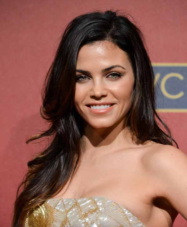 Jenna Dewan-Tatum arrives at QVC Presents Red Carpet Style on Friday, Feb, 28, 2014 in Beverly Hills, Calif. &#40;Photo by Richard Shotwell&#47;Invision&#47;AP&#41; <span class=meta>(AP Photo)</span>
