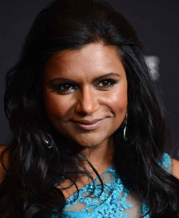 Mindy Kaling arrives at the 16th Costume Designer Guild Awards, on Saturday, Feb. 22, 2014, in Beverly Hills, Calif. &#40;Photo by Jordan Strauss&#47;Invision&#47;AP&#41; <span class=meta>(AP Photo)</span>
