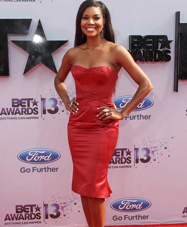 Actress Gabrielle Union attends the 2013 BET Awards held at Nokia Theatre L.A. Live on June 30, 2013 in Los Angeles, California. &#40;Photo by Paul A. Hebert&#47;Invision&#47;AP&#41; <span class=meta>(AP Photo)</span>