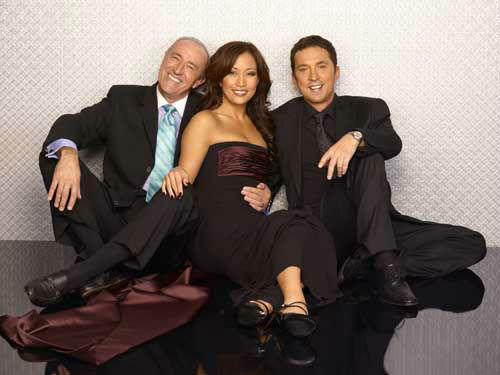 DANCING WITH THE STARS -  &#34;Dancing with the Stars&#34; and &#34;Dancing with the Stars: the Results Show&#34; return this season with new surprises and all the performance elements viewers have come to know and love. The celebrities perform choreographed dance routines which will be judged by renowned Ballroom judge Len Goodman and dancer&#47;choreographers Bruno Tonioli and Carrie Ann Inaba. &#40;ABC&#47;Bob D&#39;Amico&#41; LEN GOODMAN, CARRIE ANN INABA, BRUNO TONIOLI <span class=meta>(Photo&#47;Bob D&#39;Amico)</span>