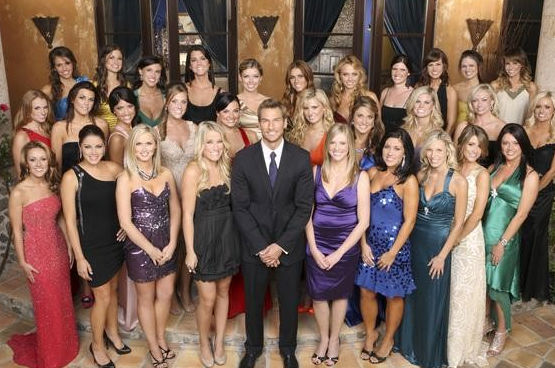"<div class=""meta image-caption""><div class=""origin-logo origin-image ""><span></span></div><span class=""caption-text""> THE BACHELOR - Brad Womack - once considered by many to be the ""most hated Bachelor"" in the series' history - has spent the better part of the last three years going through a radical personal transformation after the shocking finale night that changed his life forever. Now he is really ready - healthier both in body and mind - to make a genuine commitment to a relationship, as he stars in the next edition of ABC's hit romance reality series, ""The Bachelor,"" when it returns to ABC in January 2011. (ABC/CRAIG SJODIN) BACK ROW: LISA M., JACKIE, ALLI, JILL, LAUREN, MICHELLE, MADISON, REBECCA, SARAH L., SHAWNTEL, KELTIE; MIDDLE ROW: LINDSAY, MEGHAN, MARISSA, BRITNEE, JESSICA, BRITT, RENEE, LACEY, SARAH P., EMILY; BOTTOM ROW: ASHLEY H., STACEY, KIMBERLY,, LISA P., BRAD WOMACK, CRISTY, RAICHEL, MELISSA, ASHLEY S., CHANTAL 122027_D_0056  (Craig Sjodin)</span></div>"