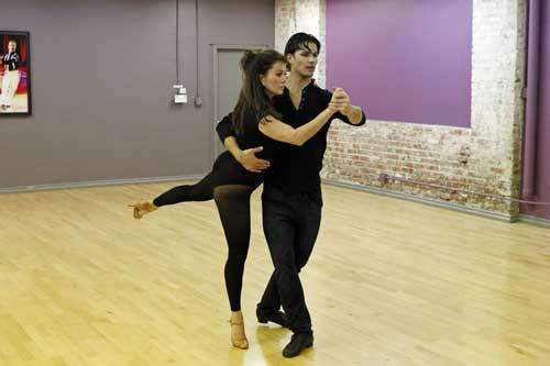 "<div class=""meta ""><span class=""caption-text "">DANCING WITH THE STARS - REHEARSALS - This season's dynamic lineup of stars  will perform for the first time on live national television with their professional partners during the two-hour season premiere of ""Dancing with the Stars,"" MONDAY, MARCH 18 (8:00-10:01 p.m., ET) on the ABC Television Network. (ABC/Rick Rowell) LISA VANDERPUMP, GLEB SAVCHENKO (Photo/Rick Rowell)</span></div>"