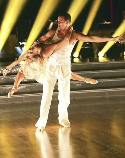 "<div class=""meta ""><span class=""caption-text "">DANCING WITH THE STARS - ""Episode 1601"" -- ""Dancing with the Stars"" was back with an all-new cast of fresh faces hitting the dance floor. The competition began with the two-hour Season 16 premiere, live, MONDAY, MARCH 18 (8:00-10:01 p.m., ET) on the ABC Television Network.   (ABC/Adam Taylor) KYM JOHNSON, INGO RADEMACHER (Photo/Adam Taylor)</span></div>"