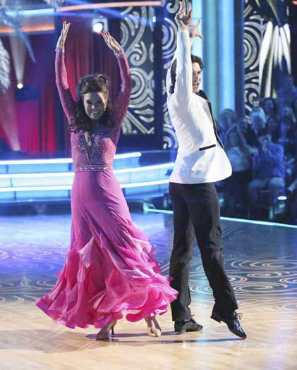 "<div class=""meta ""><span class=""caption-text "">DANCING WITH THE STARS - ""Episode 1601"" -- ""Dancing with the Stars"" was back with an all-new cast of fresh faces hitting the dance floor. The competition began with the two-hour Season 16 premiere, live, MONDAY, MARCH 18 (8:00-10:01 p.m., ET) on the ABC Television Network.   (ABC/Adam Taylor) LISA VANDERPUMP, GLEB SAVCHENKO (Photo/Adam Taylor)</span></div>"