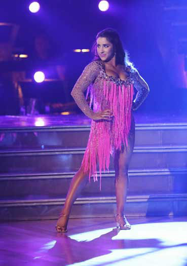 "<div class=""meta ""><span class=""caption-text "">DANCING WITH THE STARS - ""Episode 1601"" -- ""Dancing with the Stars"" was back with an all-new cast of fresh faces hitting the dance floor. The competition began with the two-hour Season 16 premiere, live, MONDAY, MARCH 18 (8:00-10:01 p.m., ET) on the ABC Television Network.   (ABC/Adam Taylor) ALEXANDRA RAISMAN (Photo/Adam Taylor)</span></div>"