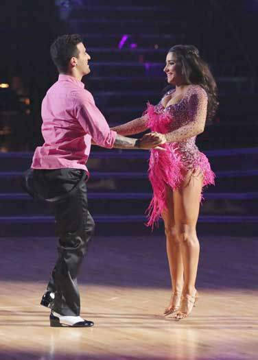"<div class=""meta image-caption""><div class=""origin-logo origin-image ""><span></span></div><span class=""caption-text"">DANCING WITH THE STARS - ""Episode 1601"" -- ""Dancing with the Stars"" was back with an all-new cast of fresh faces hitting the dance floor. The competition began with the two-hour Season 16 premiere, live, MONDAY, MARCH 18 (8:00-10:01 p.m., ET) on the ABC Television Network.   (ABC/Adam Taylor) MARK BALLAS, ALEXANDRA RAISMAN (Photo/Adam Taylor)</span></div>"
