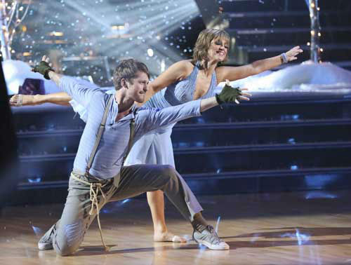 "<div class=""meta ""><span class=""caption-text "">DANCING WITH THE STARS - ""Episode 1601"" -- ""Dancing with the Stars"" was back with an all-new cast of fresh faces hitting the dance floor. The competition began with the two-hour Season 16 premiere, live, MONDAY, MARCH 18 (8:00-10:01 p.m., ET) on the ABC Television Network.   (ABC/Adam Taylor) TRISTAN MACMANUS, DOROTHY HAMILL (Photo/Adam Taylor)</span></div>"