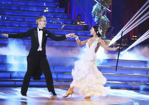 "<div class=""meta ""><span class=""caption-text "">DANCING WITH THE STARS - ""Episode 1601"" -- ""Dancing with the Stars"" was back with an all-new cast of fresh faces hitting the dance floor. The competition began with the two-hour Season 16 premiere, live, MONDAY, MARCH 18 (8:00-10:01 p.m., ET) on the ABC Television Network.   (ABC/Adam Taylor) ANDY DICK, SHARNA BURGESS (Photo/Adam Taylor)</span></div>"