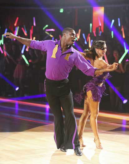 DANCING WITH THE STARS - &#34;Episode 1601&#34; -- &#34;Dancing with the Stars&#34; was back with an all-new cast of fresh faces hitting the dance floor. The competition began with the two-hour Season 16 premiere, live, MONDAY, MARCH 18 &#40;8:00-10:01 p.m., ET&#41; on the ABC Television Network.   &#40;ABC&#47;Adam Taylor&#41; JACOBY JONES, KARINA SMIRNOFF <span class=meta>(Photo&#47;Adam Taylor)</span>