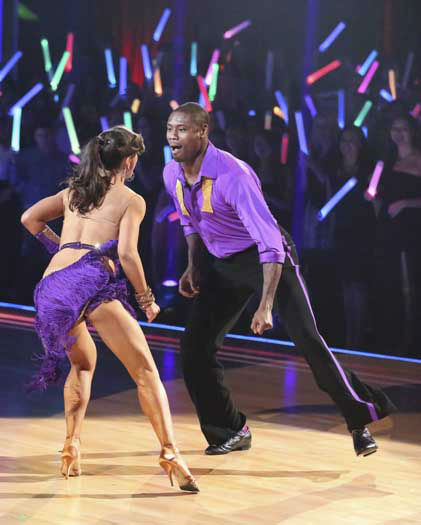 "<div class=""meta ""><span class=""caption-text "">DANCING WITH THE STARS - ""Episode 1601"" -- ""Dancing with the Stars"" was back with an all-new cast of fresh faces hitting the dance floor. The competition began with the two-hour Season 16 premiere, live, MONDAY, MARCH 18 (8:00-10:01 p.m., ET) on the ABC Television Network.   (ABC/Adam Taylor) KARINA SMIRNOFF, JACOBY JONES (Photo/Adam Taylor)</span></div>"