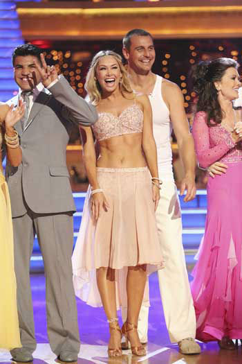 DANCING WITH THE STARS - &#34;Episode 1601&#34; -- &#34;Dancing with the Stars&#34; was back with an all-new cast of fresh faces hitting the dance floor. The competition began with the two-hour Season 16 premiere, live, MONDAY, MARCH 18 &#40;8:00-10:01 p.m., ET&#41; on the ABC Television Network.   &#40;ABC&#47;Adam Taylor&#41; VICTOR ORTIZ, KYM JOHNSON, INGO RADEMACHER, LISA VANDERPUMP <span class=meta>(Photo&#47;Adam Taylor)</span>