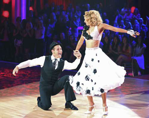 "<div class=""meta ""><span class=""caption-text "">DANCING WITH THE STARS - ""Episode 1602"" - The competition heats up on ""Dancing with the Stars"" as the celebrities take on new dance routines and fight for survival, MONDAY, MARCH 25 (8:00-10:02 p.m., ET). The couples will be performing a Jive, Quickstep or Jazz routine. (ABC/Adam Taylor) INGO RADEMACHER, KYM JOHNSON (Photo/Adam Taylor)</span></div>"