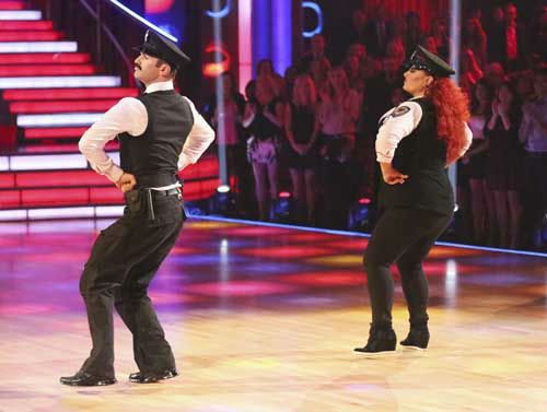 DANCING WITH THE STARS - &#34;Episode 1602&#34; - The competition heats up on &#34;Dancing with the Stars&#34; as the celebrities take on new dance routines and fight for survival, MONDAY, MARCH 25 &#40;8:00-10:02 p.m., ET&#41;. The couples will be performing a Jive, Quickstep or Jazz routine. &#40;ABC&#47;Adam Taylor&#41; TONY DOVOLANI, WYNONNA JUDD <span class=meta>(Photo&#47;Adam Taylor)</span>