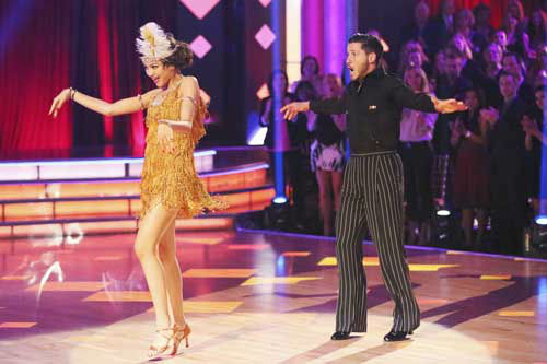 DANCING WITH THE STARS - &#34;Episode 1602&#34; - The competition heats up on &#34;Dancing with the Stars&#34; as the celebrities take on new dance routines and fight for survival, MONDAY, MARCH 25 &#40;8:00-10:02 p.m., ET&#41;. The couples will be performing a Jive, Quickstep or Jazz routine. &#40;ABC&#47;Adam Taylor&#41; ZENDAYA, VAL CHMERKOVSKIY <span class=meta>(Photo&#47;Adam Taylor)</span>