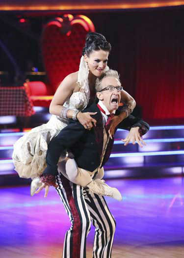 DANCING WITH THE STARS - &#34;Episode 1602&#34; - The competition heats up on &#34;Dancing with the Stars&#34; as the celebrities take on new dance routines and fight for survival, MONDAY, MARCH 25 &#40;8:00-10:02 p.m., ET&#41;. The couples will be performing a Jive, Quickstep or Jazz routine. &#40;ABC&#47;Adam Taylor&#41; SHARNA BURGESS, ANDY DICK <span class=meta>(Photo&#47;Adam Taylor)</span>