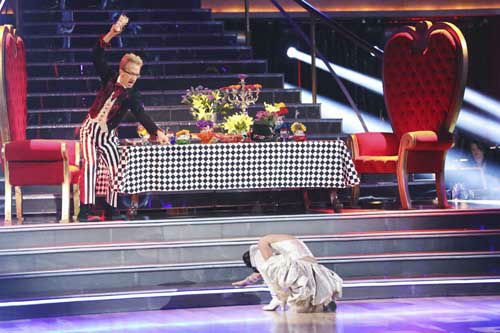 "<div class=""meta image-caption""><div class=""origin-logo origin-image ""><span></span></div><span class=""caption-text"">DANCING WITH THE STARS - ""Episode 1602"" - The competition heats up on ""Dancing with the Stars"" as the celebrities take on new dance routines and fight for survival, MONDAY, MARCH 25 (8:00-10:02 p.m., ET). The couples will be performing a Jive, Quickstep or Jazz routine. (ABC/Adam Taylor) ANDY DICK, SHARNA BURGESS (Photo/Adam Taylor)</span></div>"