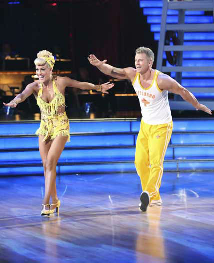 DANCING WITH THE STARS - &#34;Episode 1602&#34; - The competition heats up on &#34;Dancing with the Stars&#34; as the celebrities take on new dance routines and fight for survival, MONDAY, MARCH 25 &#40;8:00-10:02 p.m., ET&#41;. The couples will be performing a Jive, Quickstep or Jazz routine. &#40;ABC&#47;Adam Taylor&#41; PETA MURGATROYD, SEAN LOWE <span class=meta>(Photo&#47;Adam Taylor)</span>
