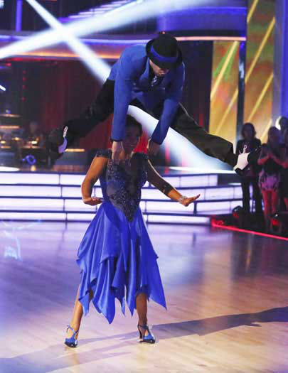 DANCING WITH THE STARS - &#34;Episode 1602&#34; - The competition heats up on &#34;Dancing with the Stars&#34; as the celebrities take on new dance routines and fight for survival, MONDAY, MARCH 25 &#40;8:00-10:02 p.m., ET&#41;. The couples will be performing a Jive, Quickstep or Jazz routine. &#40;ABC&#47;Adam Taylor&#41; MARK BALLAS, ALEXANDRA RAISMAN <span class=meta>(ABC Photo&#47; Adam Taylor)</span>