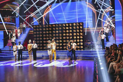 "<div class=""meta image-caption""><div class=""origin-logo origin-image ""><span></span></div><span class=""caption-text"">DANCING WITH THE STARS THE RESULTS SHOW - ""Episode 1602A"" - On TUESDAY, MARCH 26, one couple will face the first nail biting elimination on the season premiere of ""Dancing with the Stars the Results Show"" (9:00-10:01 p.m., ET). The show will feature a musical performance by signer Josh Groban, who is set to perform his current single, ""Brave,"" with an 18-piece band accompanied by ""Dancing with the Stars"" alumni Chelsie Hightower and Dmitry Chaplin. Adding to the excitement, acclaimed Swedish duo Icona Pop will perform their hit song, ""I Love It."" The results show will feature a spectacular opening performance by this season's pros and Troupe dancers. (ABC/Adam Taylor) LEFT: LISA VANDERPUMP, GLEB SAVCHENKO, INGO RADEMACHER, KYM JOHNSON, VICTOR ORTIZ, LINDSAY ARNOLD, KELLIE PICKLER, DEREK HOUGH; CENTER: CHERYL BURKE, D.L. HUGHLEY, ZENDAYA, VAL CHMERKOVSKIY, PETA MURGATROYD, SEAN LOWE, ALEXANDRA RAISMAN, MARK BALLAS; RIGHT: DOROTHY HAMILL, TRISTAN MACMANUS, WYNONNA JUDD, TONY DOVOLANI, SHARNA BURGESS, ANDY DICK, KARINA SMIRNOFF, JACOBY JONES (Photo/Adam Taylor)</span></div>"