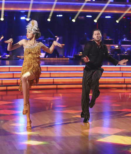 "<div class=""meta ""><span class=""caption-text "">DANCING WITH THE STARS THE RESULTS SHOW - ""Episode 1602A"" - On TUESDAY, MARCH 26, one couple will face the first nail biting elimination on the season premiere of ""Dancing with the Stars the Results Show"" (9:00-10:01 p.m., ET). The show will feature a musical performance by signer Josh Groban, who is set to perform his current single, ""Brave,"" with an 18-piece band accompanied by ""Dancing with the Stars"" alumni Chelsie Hightower and Dmitry Chaplin. Adding to the excitement, acclaimed Swedish duo Icona Pop will perform their hit song, ""I Love It."" The results show will feature a spectacular opening performance by this season's pros and Troupe dancers. (ABC/Adam Taylor) ZENDAYA, VAL CHMERKOVSKIY (Photo/Adam Taylor)</span></div>"