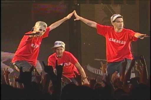 "<div class=""meta ""><span class=""caption-text "">In this 2006 file photo originally released by Thinkfilm, the Beastie Boys  are shown at their sold-out performance in Madison Square Garden in New York  in ""Awesome I ...Shot That.""  (AP Photo/ Anonymous)</span></div>"