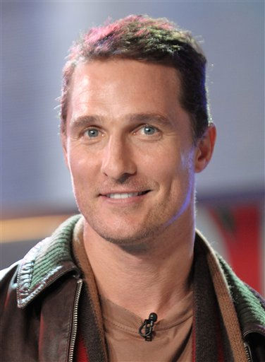 "<div class=""meta image-caption""><div class=""origin-logo origin-image ""><span></span></div><span class=""caption-text"">People's Sexiest Man Alive 2005: Matthew McConaughey. In this Feb. 5, 2008 photo, actor Matthew McConaughey makes an appearance on MTV's Total Request Live at MTV Studios, in New York.  (AP Photo/ Evan Agostini)</span></div>"